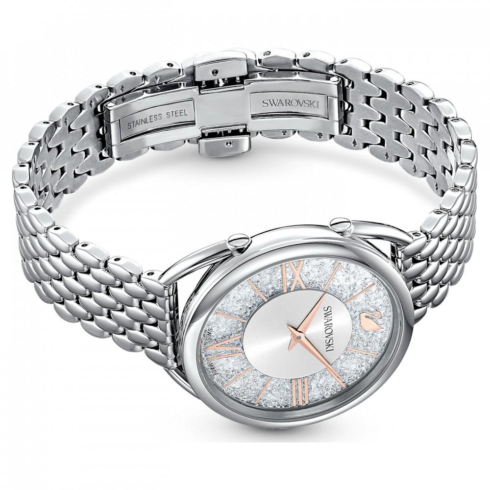 SWAROVSKI Crystalline Glam Metal Bracelet Silver Tone Stainless Steel 5455108