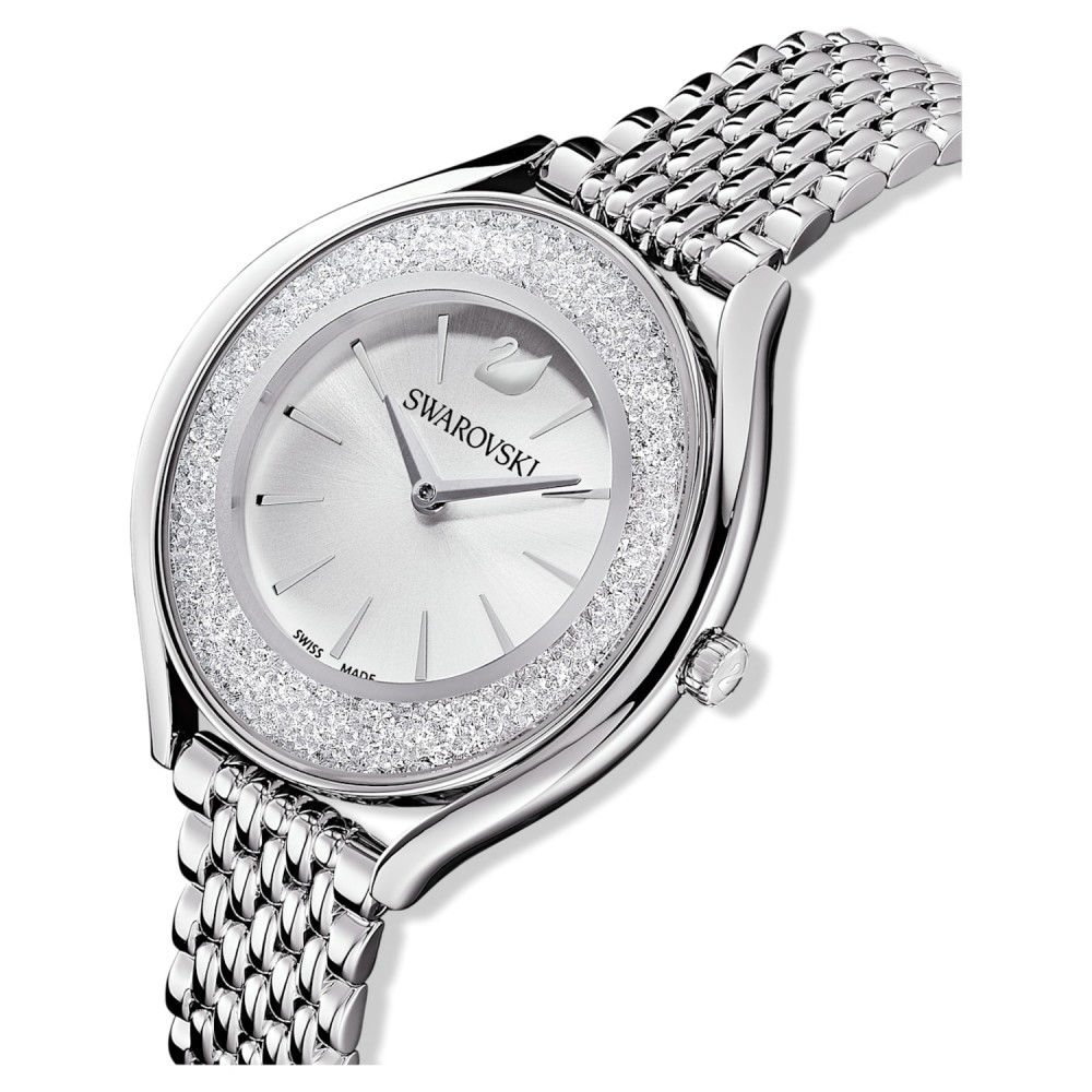 SWAROVSKI Crystalline Aura Metal Bracelet Silver Tone Plated 5519462