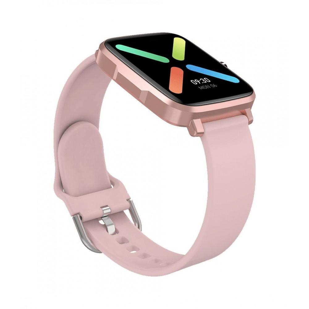 DAS.4 SG30 Smartwatch Pink Rubber Strap 75063