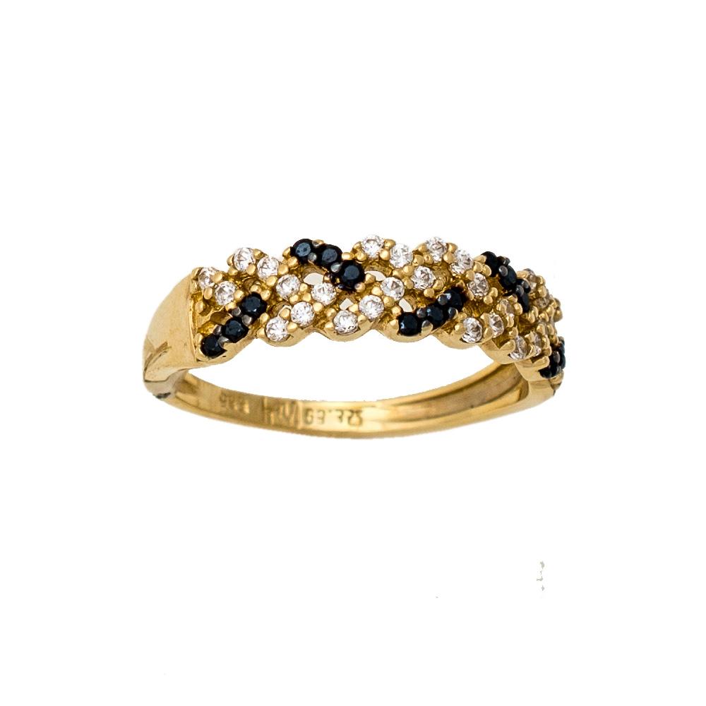 14K Χρυσό Δαχτυλίδι με Ζιργκόν DC262