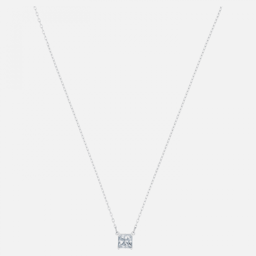 SWAROVSKI Attract Necklace White Rhodium Plated 5510696