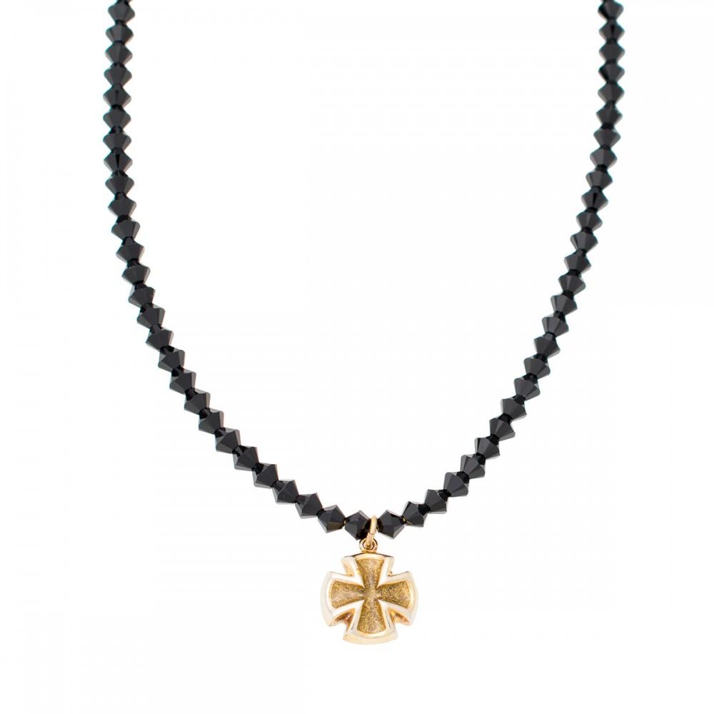 GREGIO Necklace with Cross K03226917