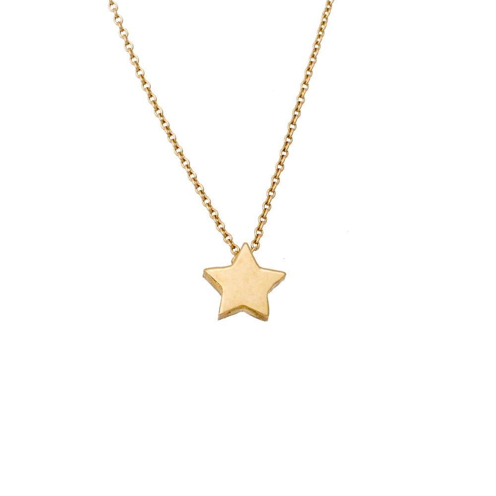 14K Χρυσό Κολιέ Αστέρι KL391X1