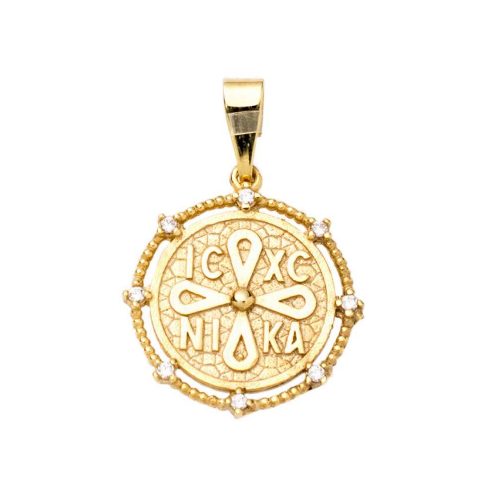 14K Gold Charm KN101MS1