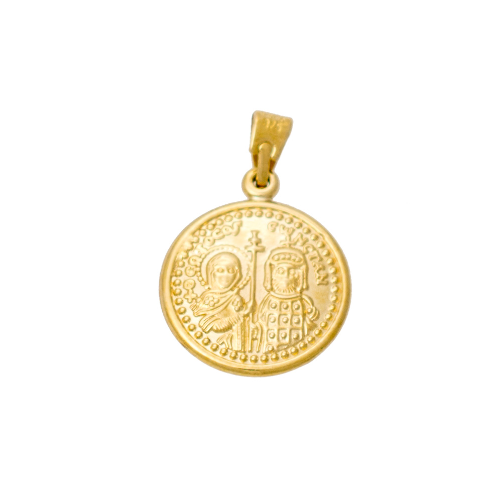 9K Gold Charm Double Side KN191VR1