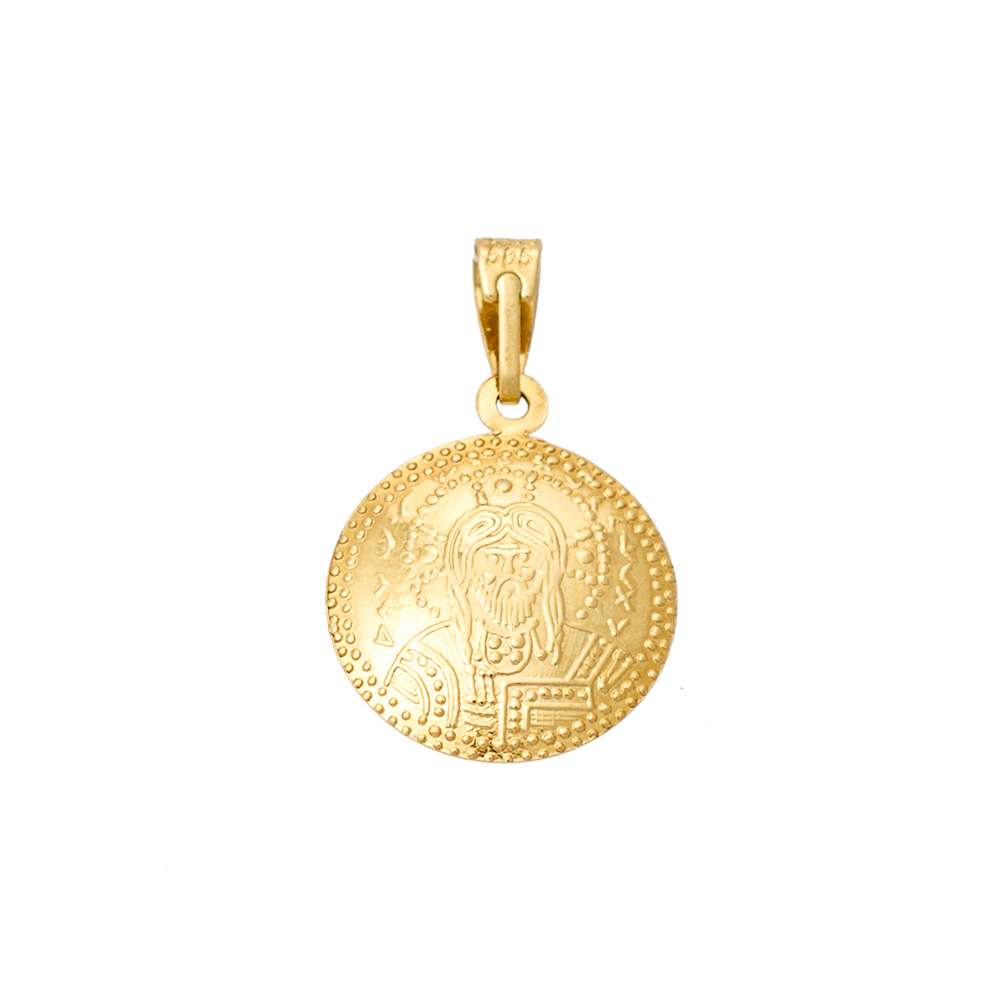 14K Gold Charm Double Side KN252VR1